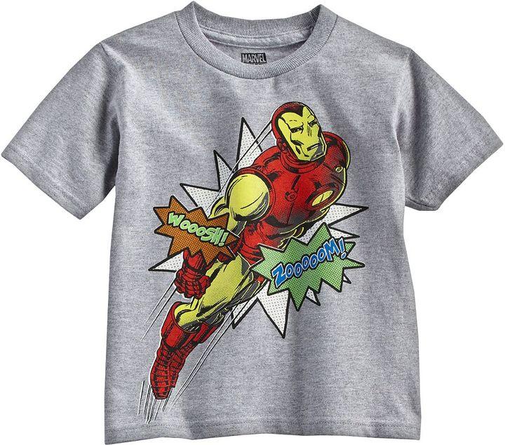 Iron Man zoom tee - toddler