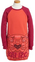 Kenzo Girl's Graphic Tiger Sweatshirt Dress
