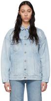 Givenchy Blue Denim Oversized Jacket