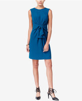 Bar III Knotted Sheath Dress, Only at Macy's
