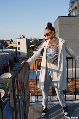 Forever 21 Heathered Knit Longline Jacket