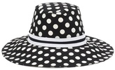 Dolce & Gabbana Cotton polka-dot hat
