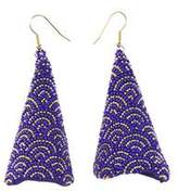 Forest of Chintz Blue Print Kakigori Earrings