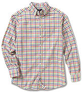 Daniel Cremieux Big & Tall Graph Washed Oxford Long-Sleeve Woven Shirt