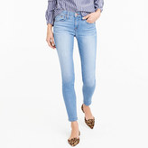 "J.Crew 8"" Toothpick jean in Chimney wash"