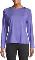 Athletic Works Women's Active Performance Long Sleeve Crewneck Commuter T-Shirt