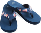 Vineyard Vines Printed Flag Flip Flops