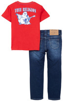 True Religion Tee & Jean Set (Toddler Boys)
