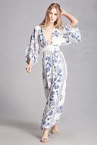 Forever 21 FOREVER 21+ Selfie Leslie Floral Maxi Dress