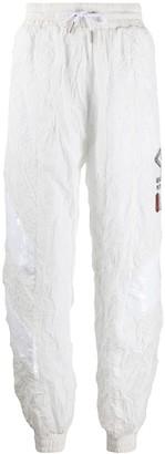 Fila Wrinkled Logo Track Pants
