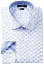 Tailorbyrd Pattern Trim Fit Dress Shirt