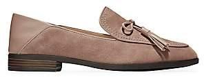 Cole Haan Women's Pinch Tassel Suede Loafers