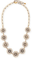 "Lulu Frost Daisy Long Floral-Station Necklace, 34.5"""
