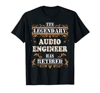 Retirement Party The Legendary Audio Engineer Has Retired T-Shirt