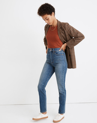 Madewell The Highest-Rise Perfect Vintage Jean in Longisle Wash