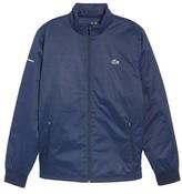 Lacoste Men's Herringbone Zip-Up Jacket
