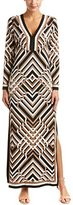 Trina Turk Women's Finn Union Square Matte Jersey Maxi Dress