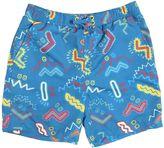 Stella McCartney Zigzag Printed Nylon Swimming Shorts