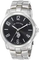 U.S. Polo Assn. Men's Analogue Dial Metal Link Watch USC80041