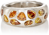 Malcolm Betts Women's Tapered-Band Ring