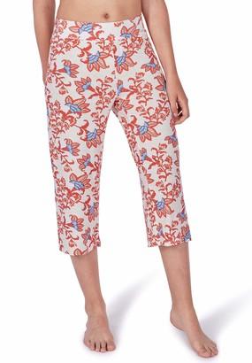 Skiny Women's Damen Pyjama Hose 3/4 Lang Ritual Sleep Bottoms