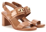 Tory Burch Gigi 65 Two Band leather sandals