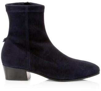 Aquatalia Fabianna Suede Ankle Boots