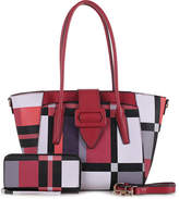 Mkf Collection By Mia K. MKF Collection by Mia K. Women's Totebags Red - Red Bellay Tote & Wallet