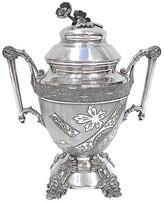 One Kings Lane Vintage Aesthetic Movement Silver Sugar Urn - Vermilion Designs