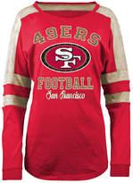 5th & Ocean Women's San Francisco 49ers Space Dye Long Sleeve T-Shirt