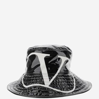Valentino VLogo Wide Brim Bucket Hat