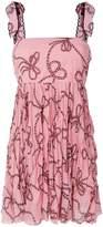Pinko rope print sleeveless dress