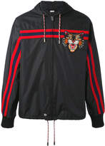 Gucci Windbreaker with Angry Cat appliqué