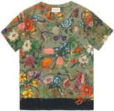Gucci Flora Snake print T-shirt