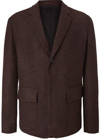Margaret Howell Brown Mélange Harris Tweed Blazer