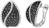Effy Jewelry Prism Black and White Diamond Earrings, 3.42 TCW