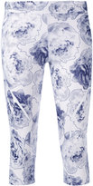 adidas by Stella McCartney floral leggings - women - Polyester/Spandex/Elastane - XS