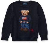 Ralph Lauren Cotton Bear Sweater, Size 2-4