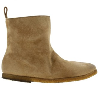 Marsèll Heeled Booties Mont Coltellara Ankle Boots In Suede