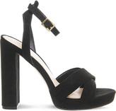 Office Nickle suedette platform sandals