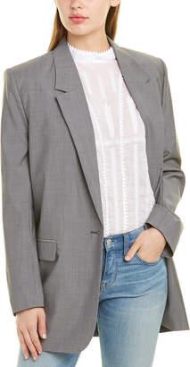 Isabel Marant Single-Breasted Wool Blazer