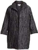 Caroline Rose Plus Jacquard Jacket