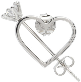 D'heygere Dheygere Silver Mini Cupido Single Earring