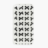 J.Crew Clear printed iPhone 6 case