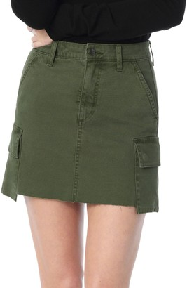 Joe's Jeans Cargo Mini Skirt