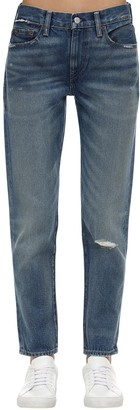 Polo Ralph Lauren Cropped Cotton Denim Jeans