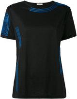Nina Ricci embroidered T-shirt - women - Cotton/Polyester/Viscose - M