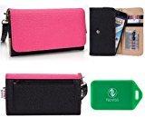 Vivo V1, Vivo V3 Wristlet wallet phone holder with Card slots and Coin Pocket
