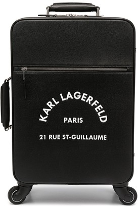 Karl Lagerfeld Paris Rue St-Guillaume carry-on trolly