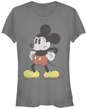 Fifth Sun Women's Disney Mickey Classic Mightiest Mouse Short Sleeve T-shirt